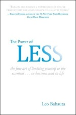 Power of Less By Leo Babauta Book Cover