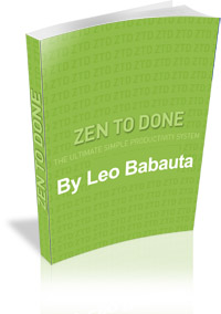 Zen To Done Image Book Cover